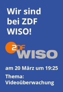 Sicherheitstechnik und Videoüberwachung bei WISO
