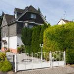 Franzke Haus mit Alarmanlage